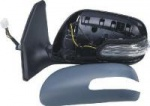 Toyota Avensis [07-09] Complete Power Folding Mirror Unit with Indicator - Primed